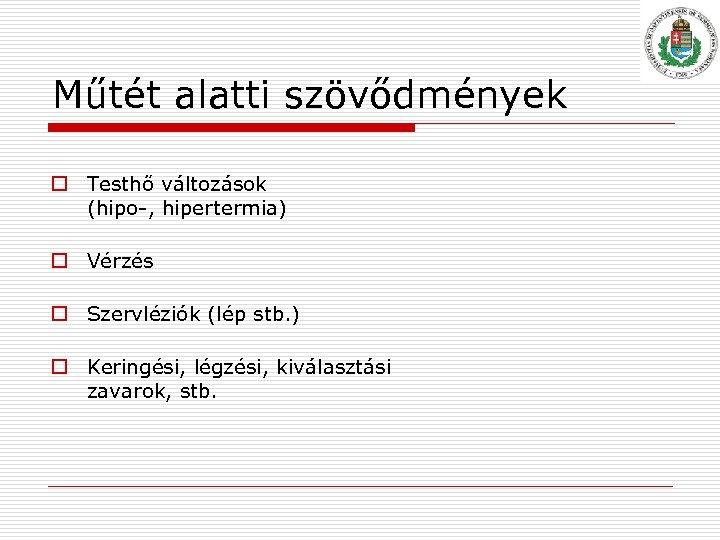 hipertermia magas vérnyomás)