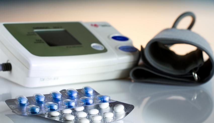 Három hatásos vérnyomáscsökkentő egyetlen tablettában