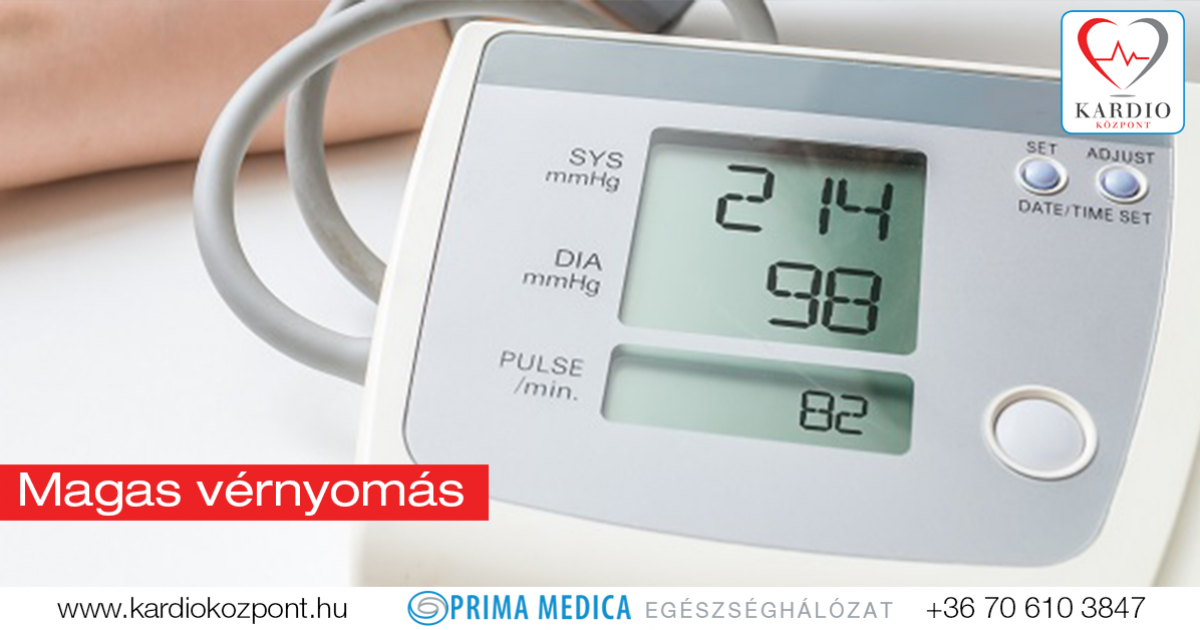 kardiológiai központok magas vérnyomás)