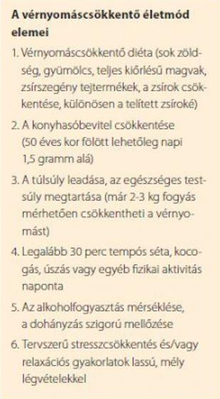 felső hipertónia)
