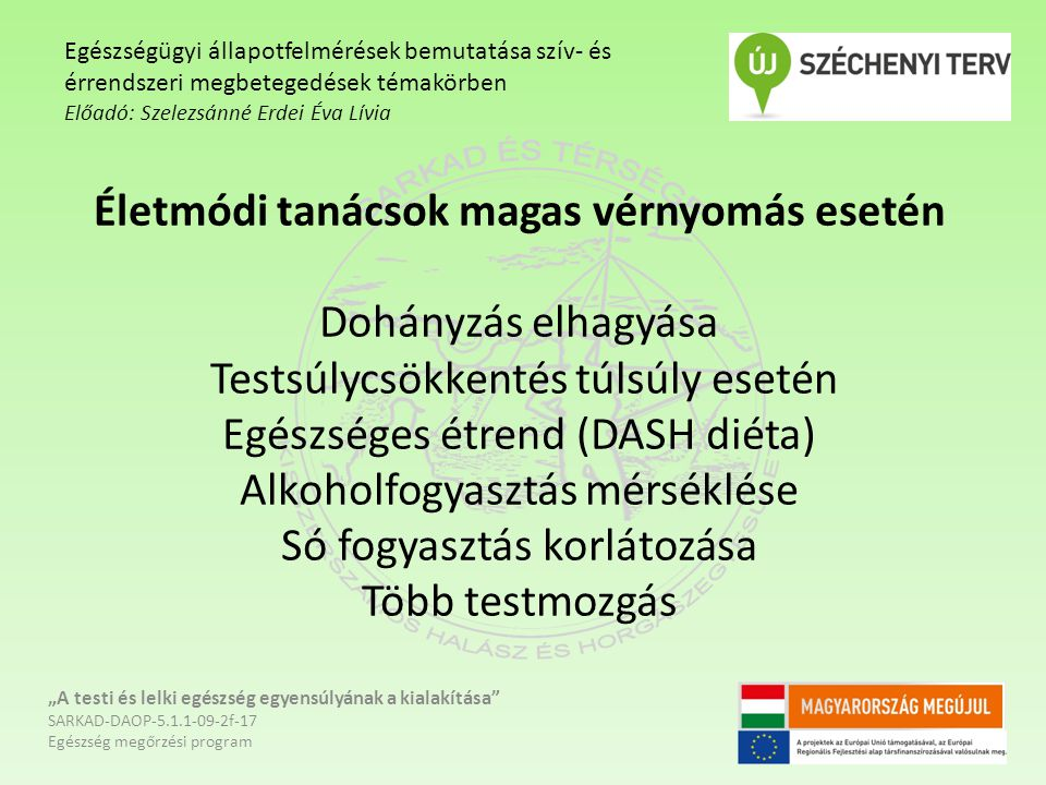 egészséges egészséges magas vérnyomás témakör)