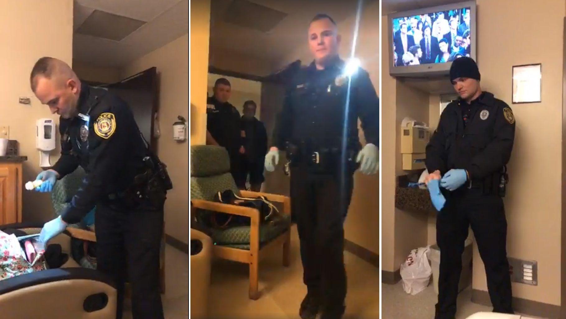 Magas vérnyomással viszik a rendőrségre