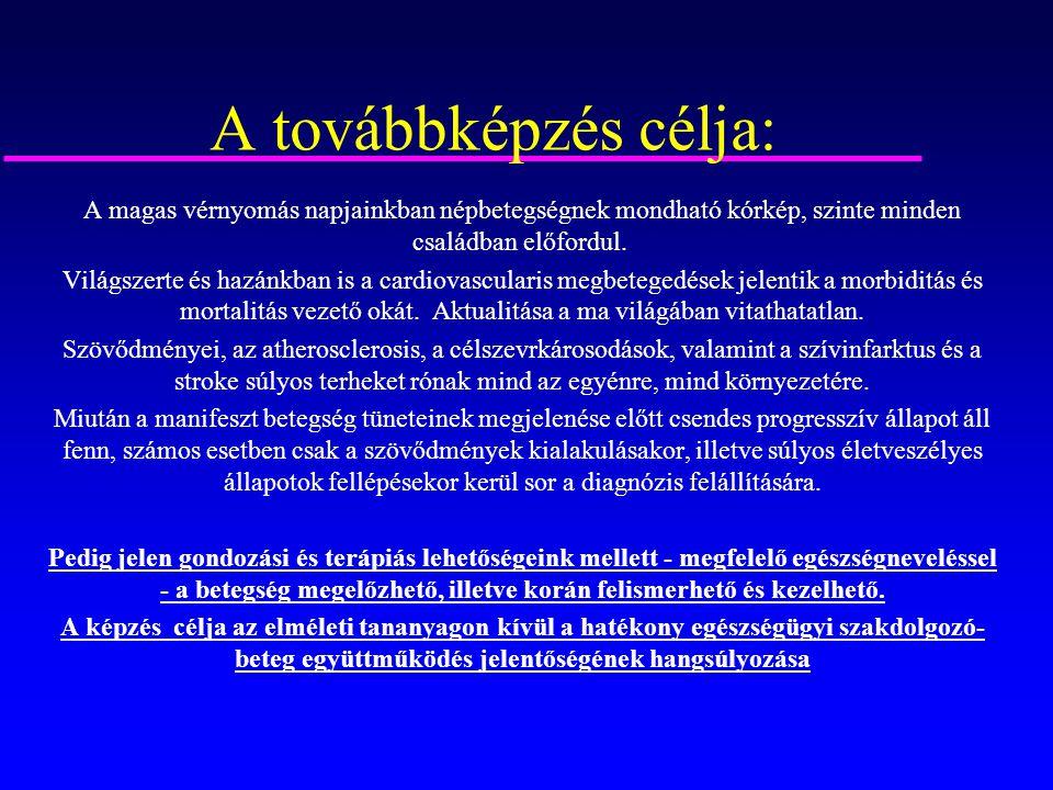 kórtörténeti hipertónia terápia)