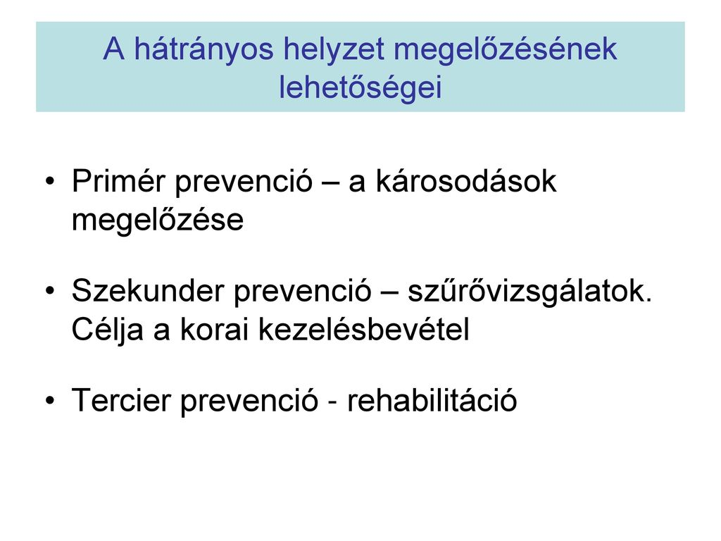 Prevenció (egészségügy)