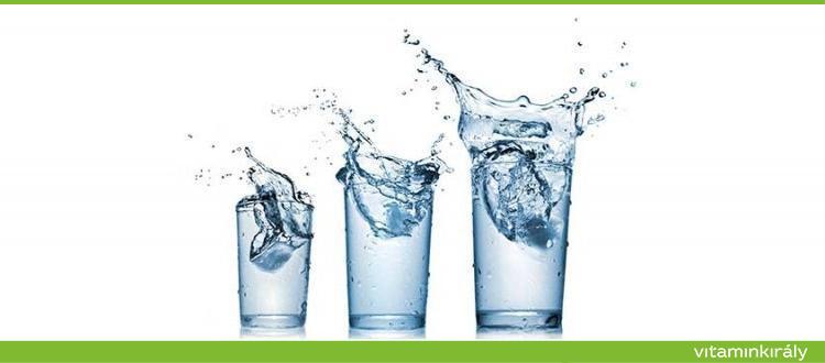magas vérnyomás vizet inni)