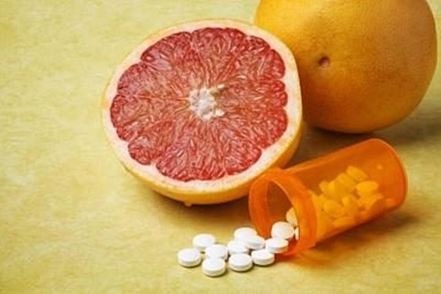 Grapefruitlével ne vegyen be gyógyszert
