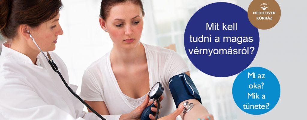 magas vérnyomás és a belek