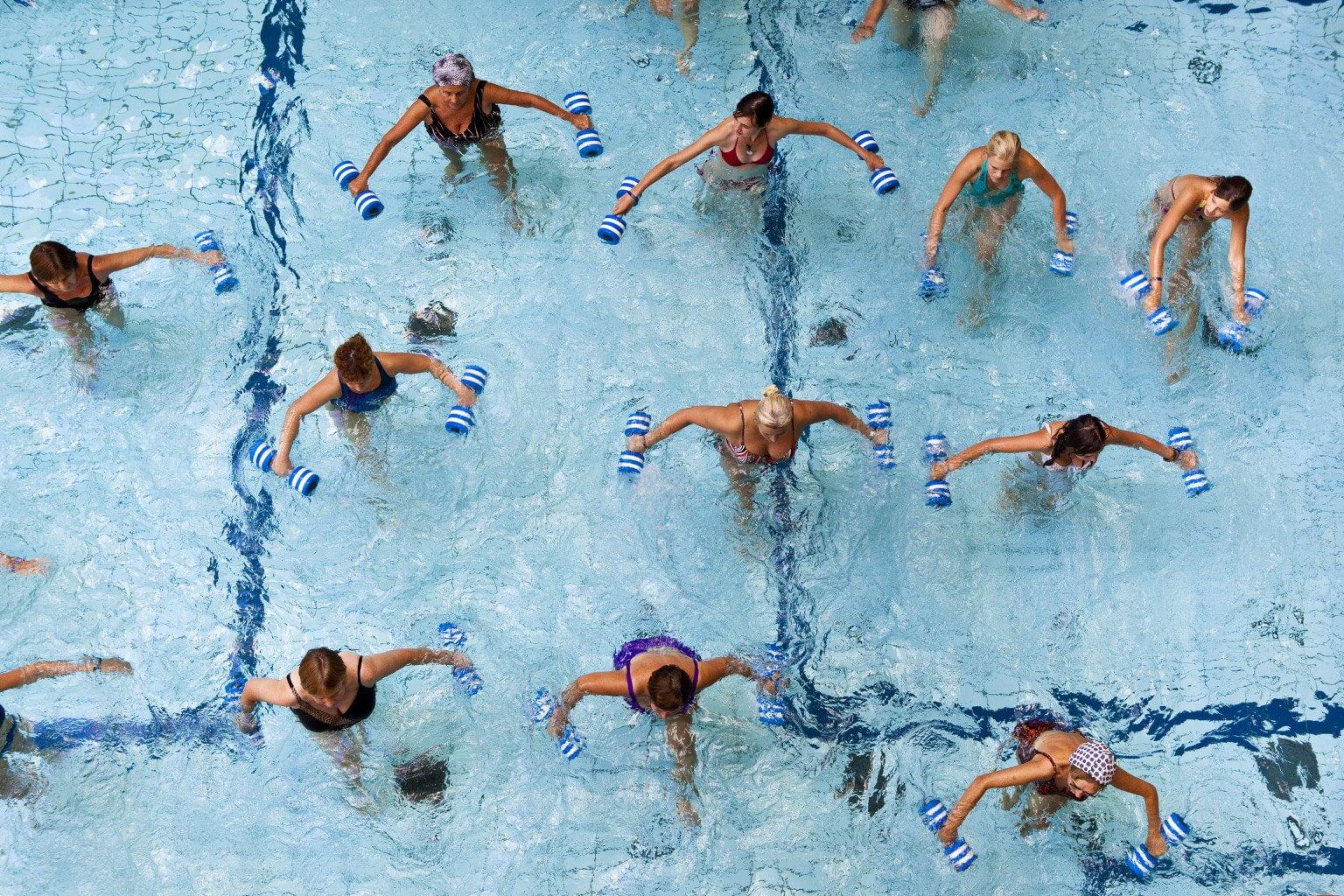 Edzés a vízben, 2. rész: aquafitness, vagy vízifitnesz