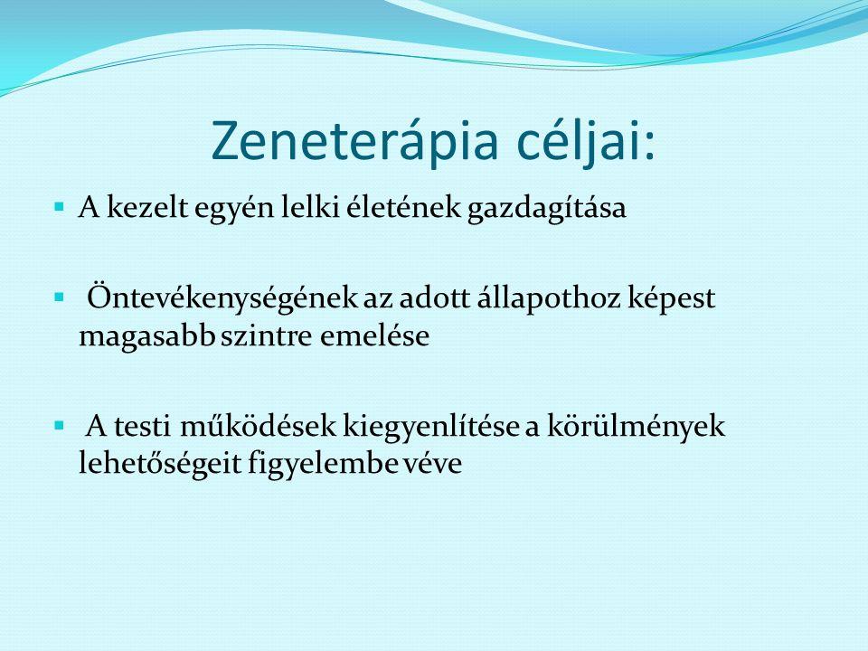 hipertónia zeneterápiája