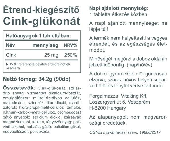 magas vérnyomás glükonát