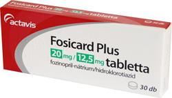 magas vérnyomás fosicard kezelése