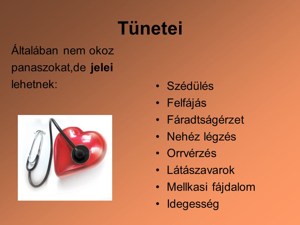 a tartós magas vérnyomás kezelése)