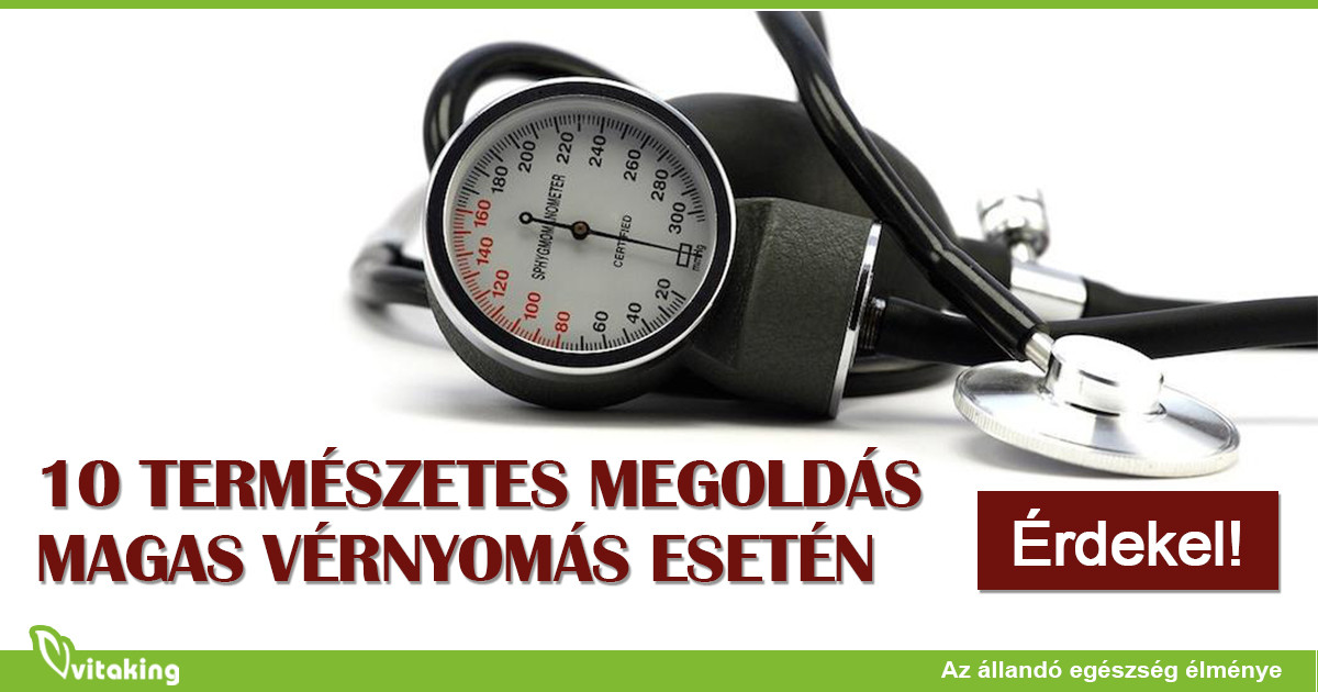 magas vérnyomás esetén