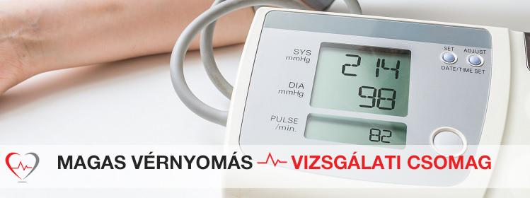 magas vérnyomás esetén hasznos termékek