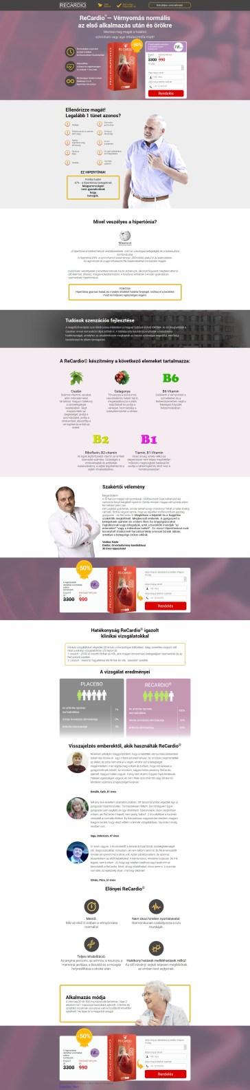hatékony küzdelem a magas vérnyomás ellen)
