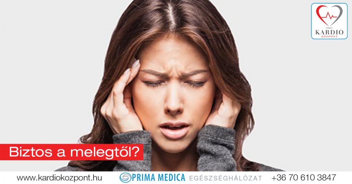 mit kell venni a magas vérnyomásos fejfájás esetén