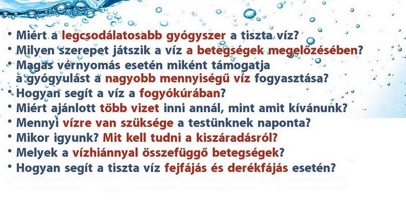 magas vérnyomás esetén mennyi vizet kell inni)
