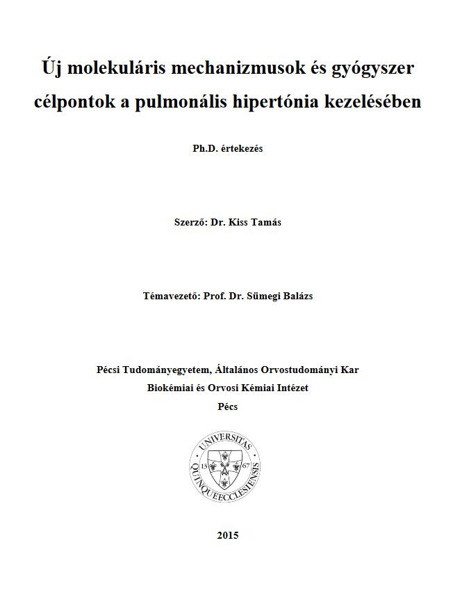 a hipertónia biokémiai mechanizmusai)