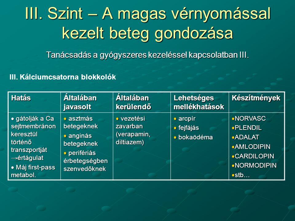 magas vérnyomású gyógyszerek béta-blokkolók)