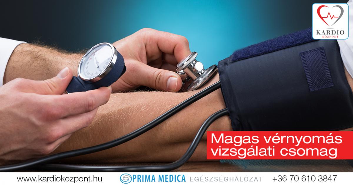 magas vérnyomás vizsgálati központok)