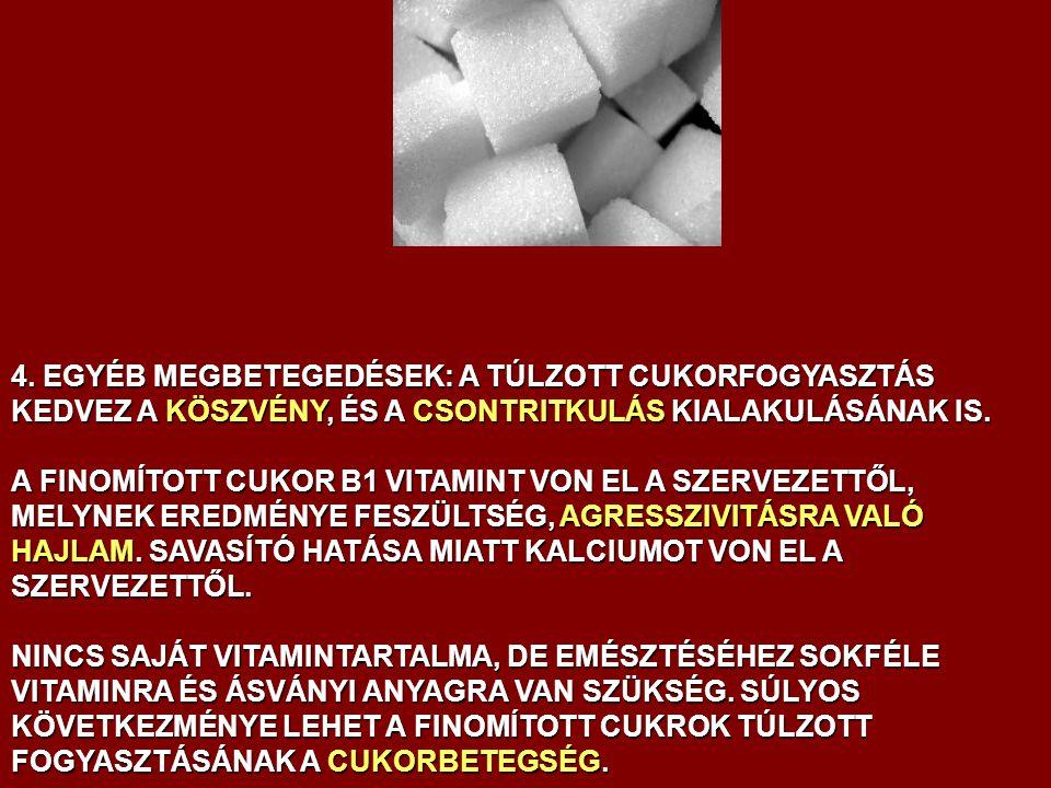 Magas vérnyomás: rosszabb a cukor, mint a só