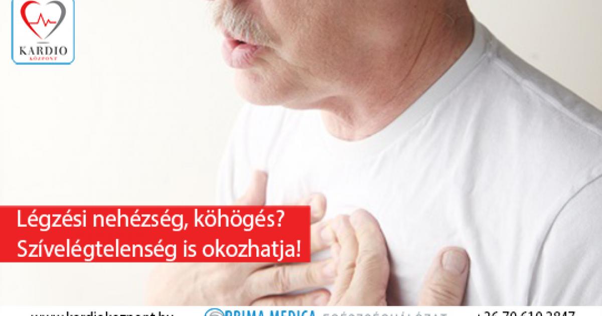 szívköhögés magas vérnyomással