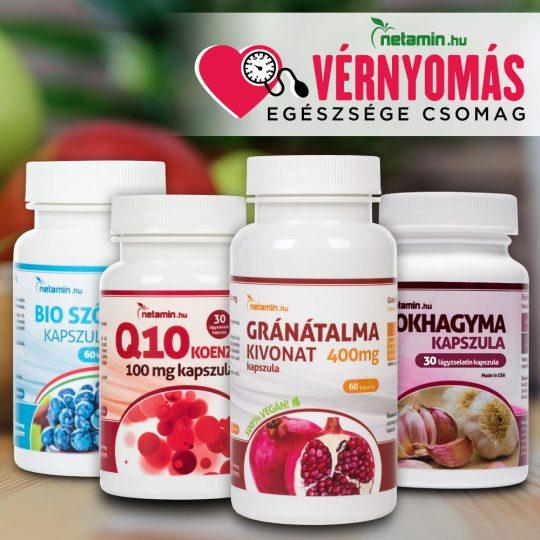 vitaminok és ásványi anyagok magas vérnyomás ellen