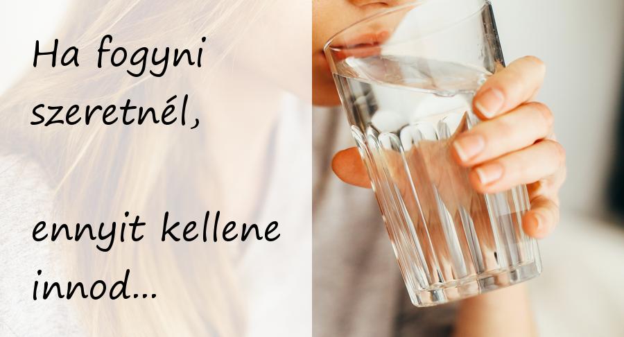 magas vérnyomás mennyi vizet kell inni naponta