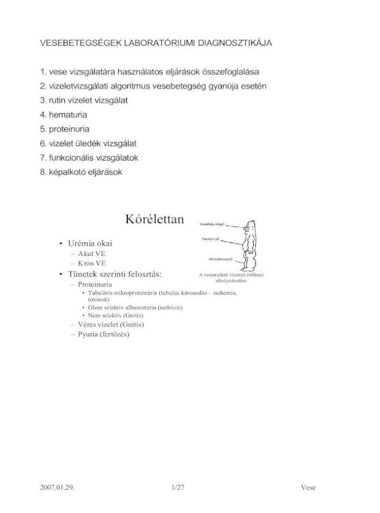 vizeletvizsgálati hipertónia