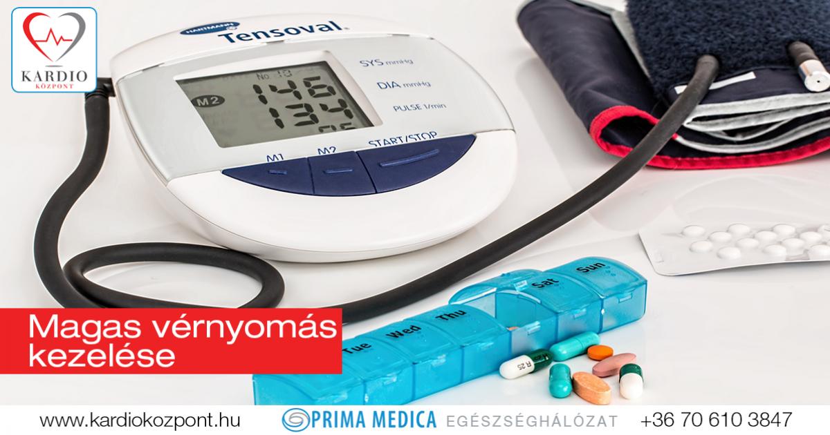 HP magas vérnyomás kezelésére